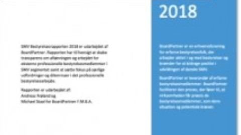 SMV Bestyrelsesrapporten 2018